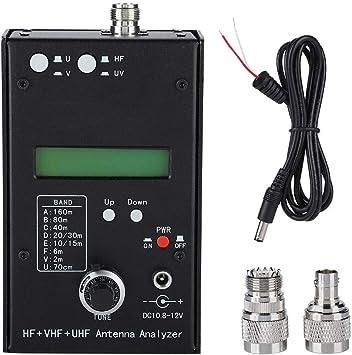 Lazmin Analizador de Antena, HF + VHF + UHF Analizador de ...