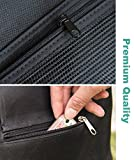 MINI-FACTORY Stroller Organizer with Cup Holders, Bottle Tissue Pocket Extra Storage for Diaper, Toys, Wallet, Cellphones & other Accessories