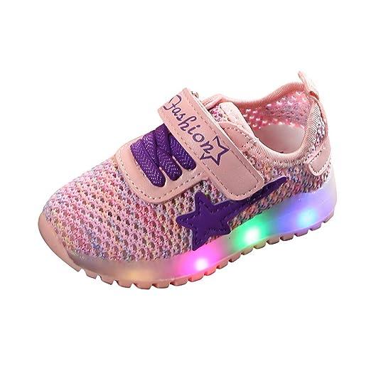 Yesmile Zapatillas infantiles Deporte con Luces para Niños Niñas Invierno Calzado Running Exterior Niñas Niños Zapatos de Primeros Pasos Bebés Bautizo Recién Nacidos: Amazon.es: Industria, empresas y ciencia