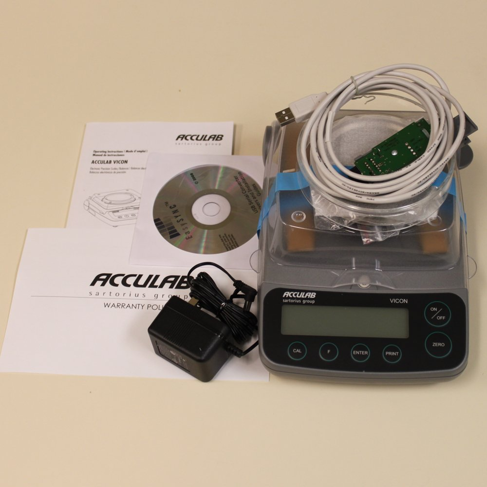 Digital Balance Weighing Scale With USB Adapter - 300 grams x 0.001 g:  Amazon.com: Industrial & Scientific