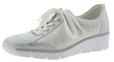 Rieker 80 587po Blanc Sneaker Chaussures Et Sacs 17Pfxqw1n