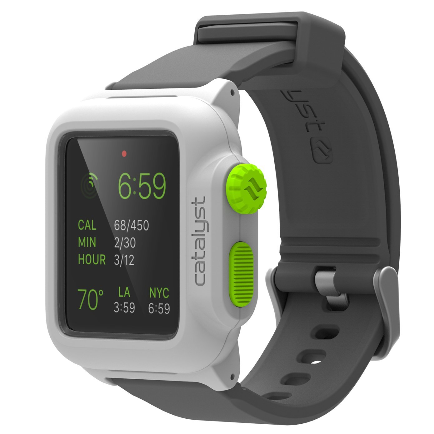 online store e594d 1ab63 Apple Series 1 42mm Waterproof Watch Case by Catalyst, Shock Proof Premium  Material Quality for Hiking, Swimming, Beach Trips, Kayaking, Cruise ...