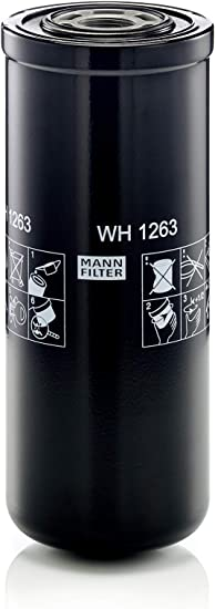Original Mann Filter Hydraulic Filter Wh 1263 For Industry Agricultural And Construction Machines Auto