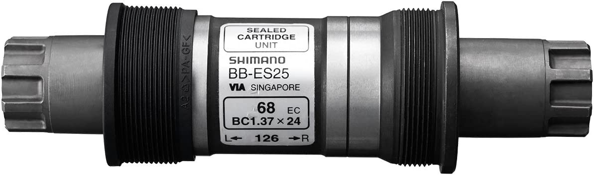 English Thread Shimano BB-ES25 Octalink Sealed Cartridge Bottom Bracket