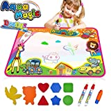 Large Magic Water Doodle Mat 34.6 x 22.8 Inch Kids Drawing Mat Pad,Learning Educational Toys Gifts for 2 3 4 5 Girls Boys Toddlers