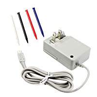 New 3DS XL Charger Kit, AC Power Adapter Charger Cable Cord and Stylus Pen for Nintendo New 3DS XL, Wall Travel Charger Power Cord Charging Cable