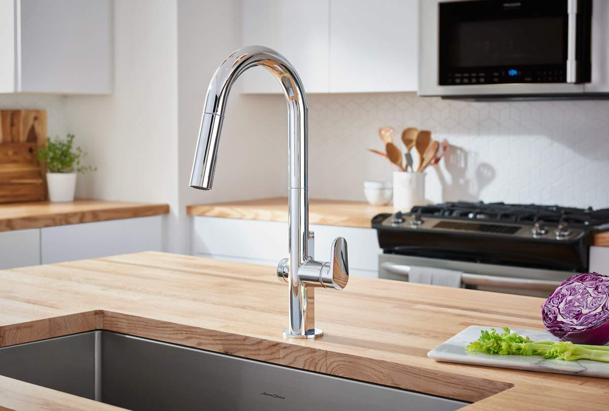 American Standard 4931360.075 Beale Measurefill Touch Kitchen Faucet, Stainless Steel by American Standard (Image #2)