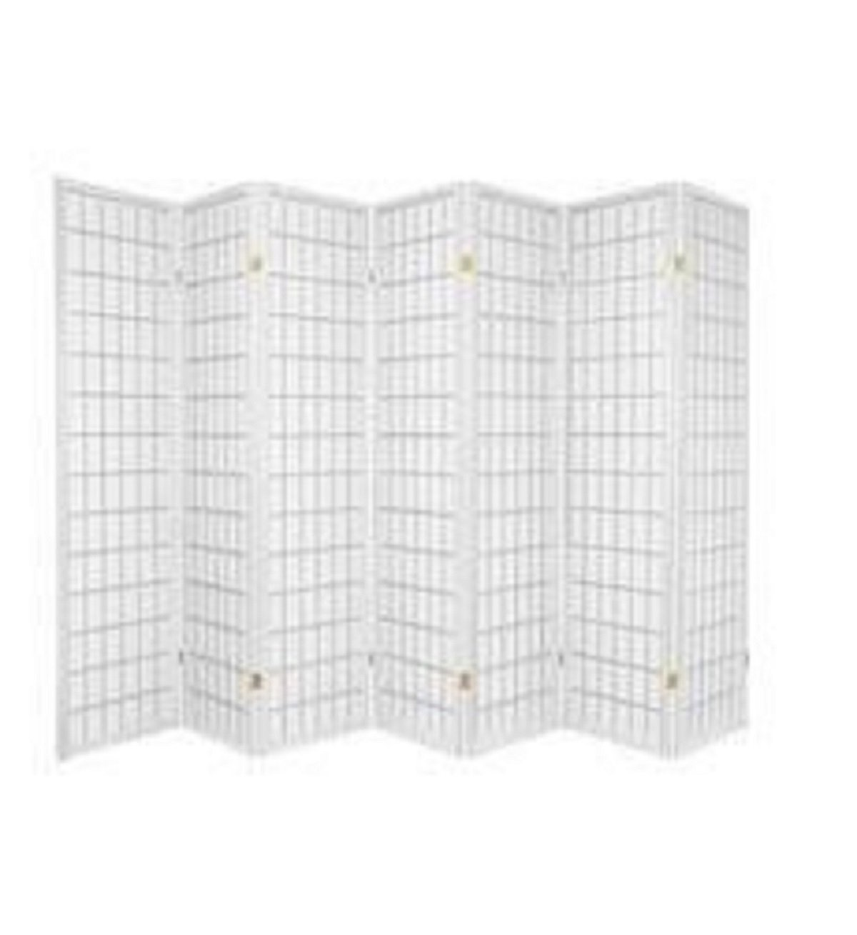 7 Panel Room Divider - Cherry SQUARE FURNITURE 04CH-7