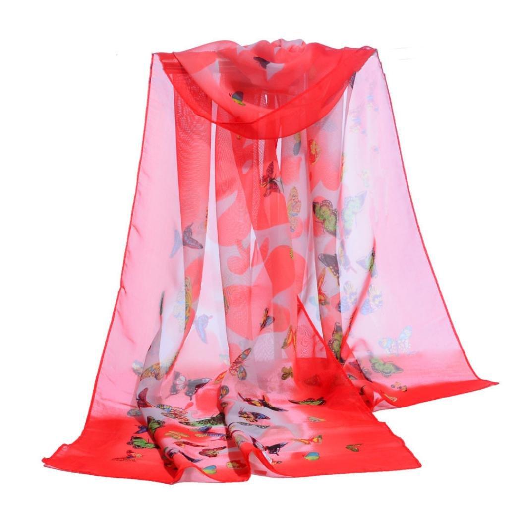 Butterfly Lady Women Fashion Stylish Soft Scarf Shawl Neck Wrap Headscarf Stole By Quistal YS0929001