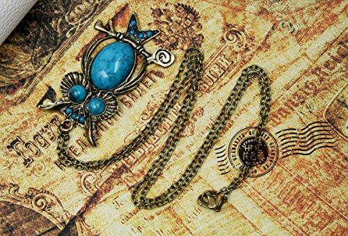 CAOLATOR Colliers de Style r/étro en Forme de Hibou Femme//Amoureux//Petite-Amie//Fille pour Accessoires de Bijoux et Cadeau de Party Prom Bijoux
