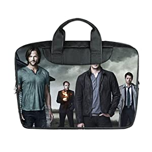 INSTALL AND EASY TO CARRY Wear& Slim &Dapper Supernatural Custom Waterproof Nylon Bag for Laptop 13Inches(Twin sides)