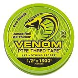Venom Pro-Grade PTFE Thread Tape - for Use on