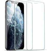 ESR hartowane szkło do iPhone'a 11 Pro ochraniacz ekranu / iPhone XS ochraniacz ekranu [2 sztuki] [łatwa rama montażowa…