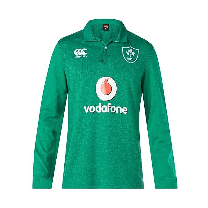 Canterbury - Camiseta de Rugby para Hombre, Manga Larga 18/19 ...