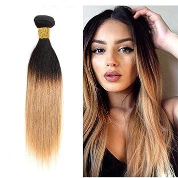 Topuhair Haar Haarverlängerung Extensions Bunt 1b27 Color Remy Haare