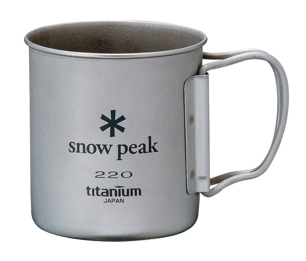 スノーピーク(snow peak) のチタンマグ220ml
