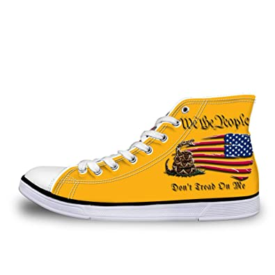 4e6b4899c806f Amazon.com | Canvas High Top Sneaker Casual Skate Shoe Mens Womens ...