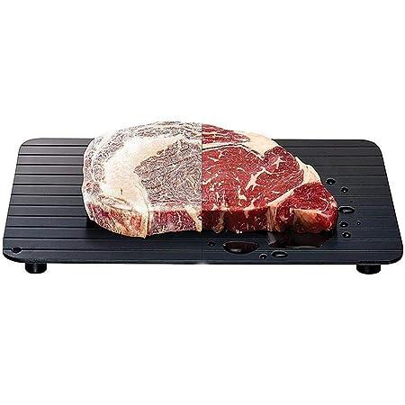 Rápida descongelación bandeja congelados carne descongelar ...