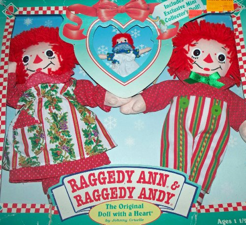 Doll Set Andy (Raggedy Ann & Andy 75th Anniversary Doll Set)