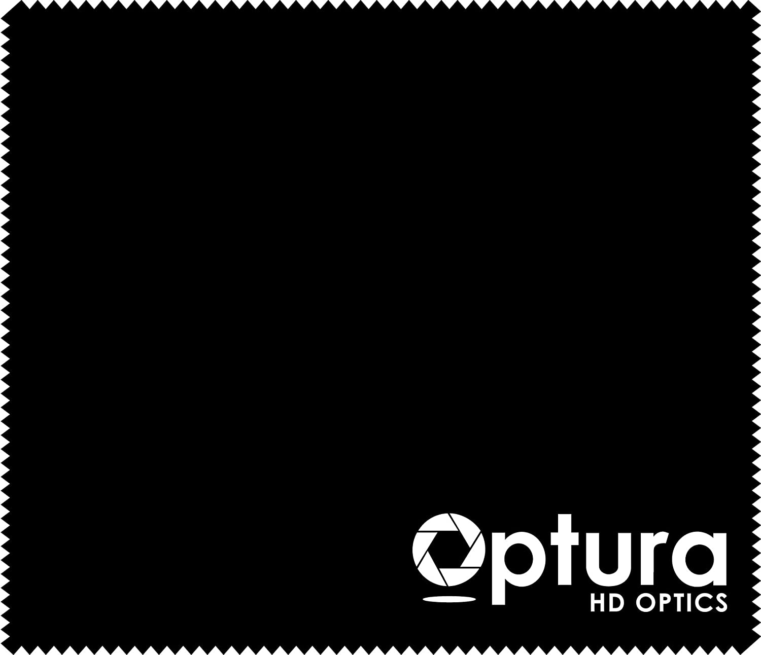 Black OPTURA HD Premium Materials Microfiber Cleaning Cloth for All Electronics iPads,iPhones,Smart Tv,Samsung Phones,Nikon Canon Sony Lenses and All Similar Items 6.5 x 5.5 Inches Pack of 6