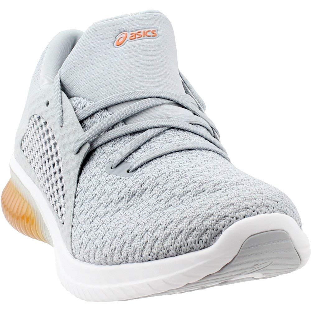 Mid gris Lava Orange 48 EU Asics Chaussures en Tricot Gel-Kenun pour Hommes