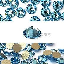AQUAMARINE (202) lake blue Swarovski NEW 2088 XIRIUS Rose 20ss 5mm flatback No-Hotfix rhinestones ss20 144 pcs (1 gross) *FREE Shipping from Mychobos (Crystal-Wholesale)*