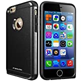 iPhone 6 Case,iPhone 6S Case,High Impact Heavy Duty Armor Hybrid Dual Layer Hard PC Outer Shell and Soft TPU Inner Defender Bumper Protective Case for Apple iPhone 6 6S (4.7) (Black)