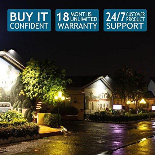 GLW 50w Outdoor LED Flood Lights Security Light, Waterproof Floodlight Lamp 3750lm 370w Halogen Bulb Equivalent
