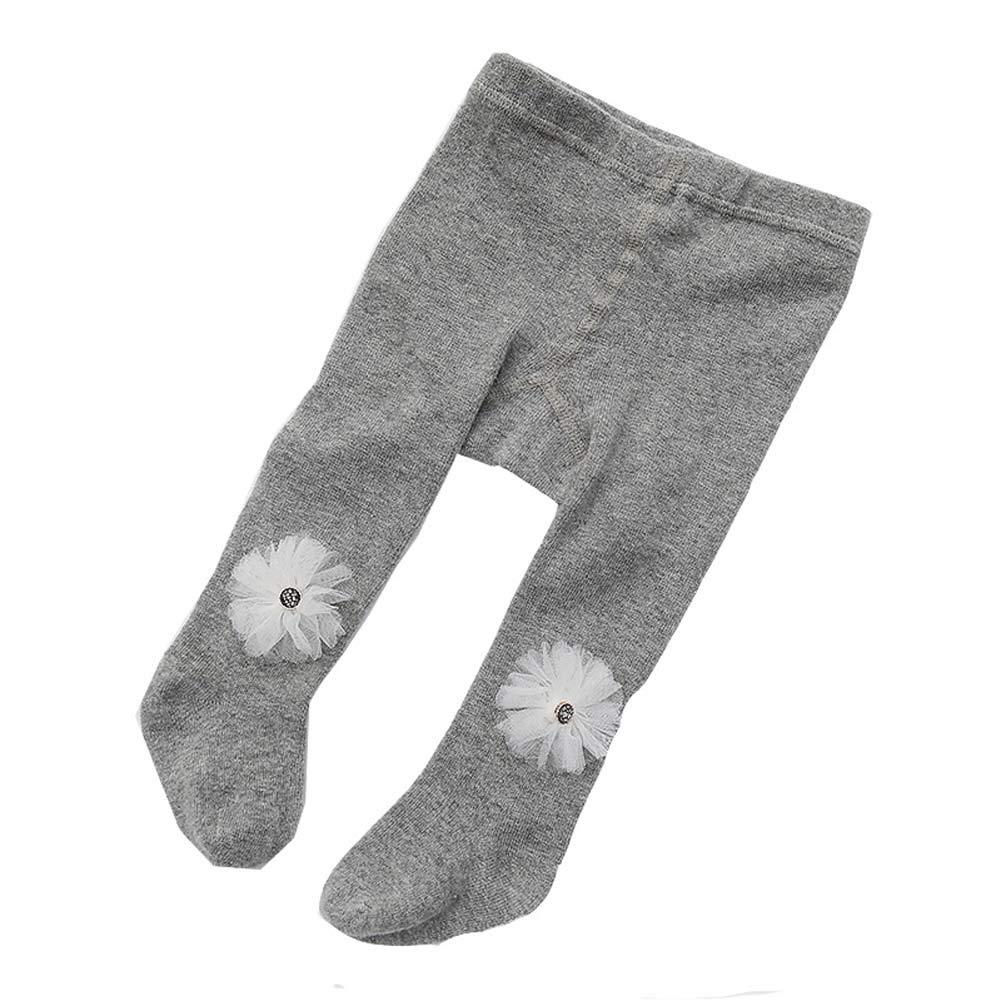 Miyanuby Ragazza Collant Calzamaglie Bimbi e Neonati Collant Pantaloni Cotone Legatura Soft Stretch Balletto di danza Footed Tight Legging