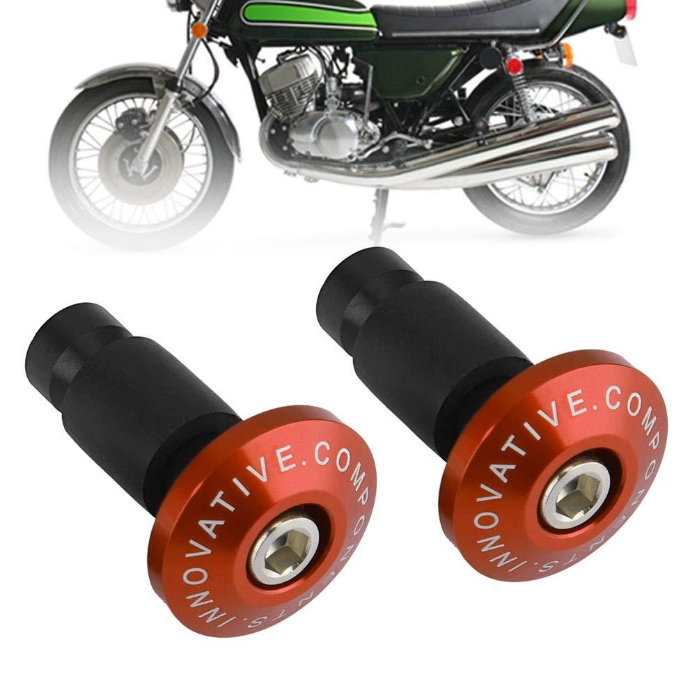 Colore : Blu Tappo per manubrio Tappo per manubrio per motocicletta Tappo per tappo per ATV da fuoristrada 22mm 7 // 8inch