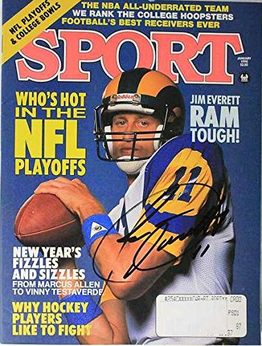 Jim Everett Signed Autographed Complete