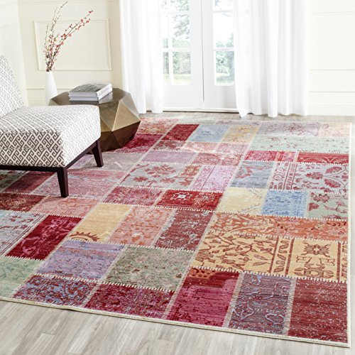 Safavieh Valencia Collection VAL217K Multicolored Distressed for sale  Delivered anywhere in USA