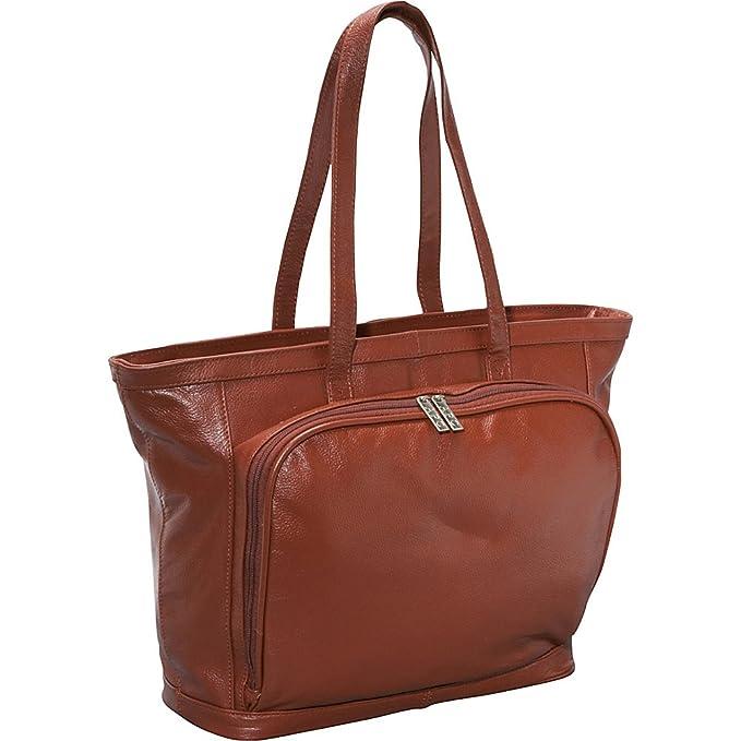 0cbdf7ffb5f33e Amazon.com | AmeriLeather Cosmopolitan Leather Tote (Brown) | Travel Totes