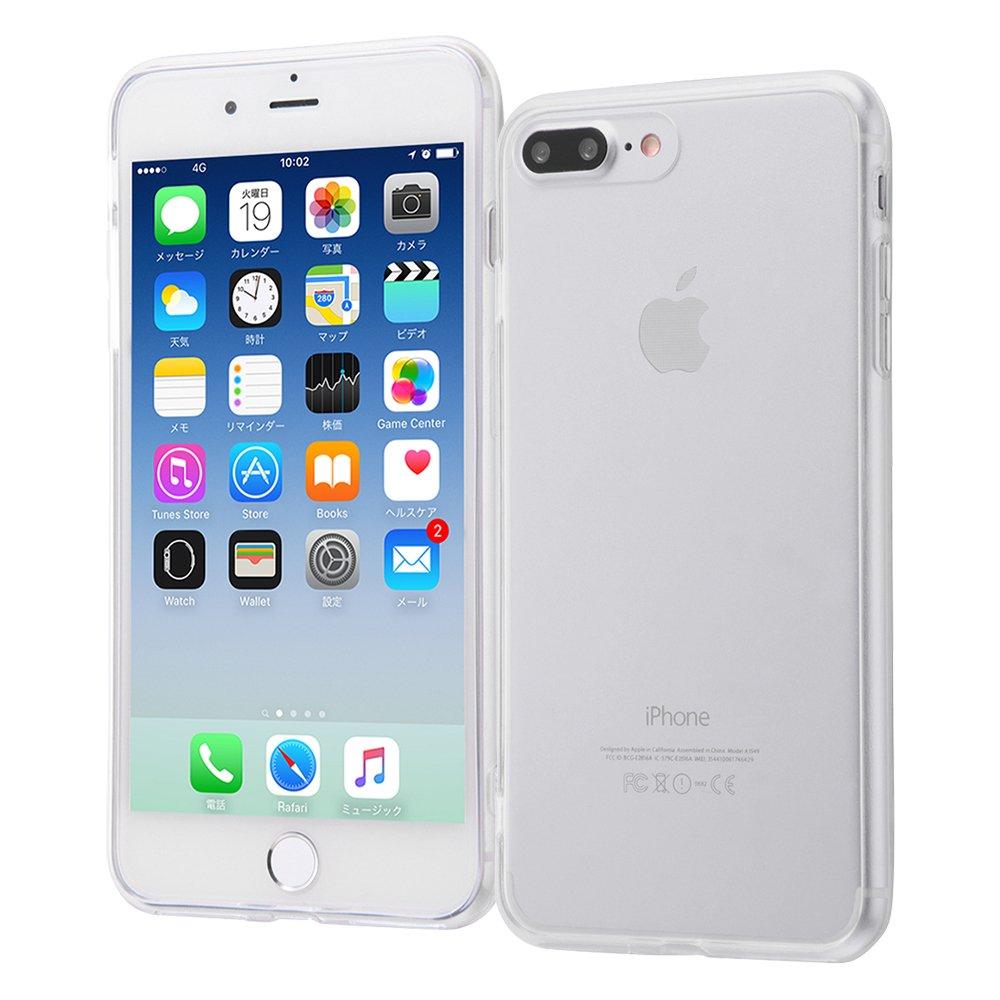 138e9c72d36 レイ・アウト iPhone8 Plus / iPhone7 Plus ケース ハイブリッド クリア ...