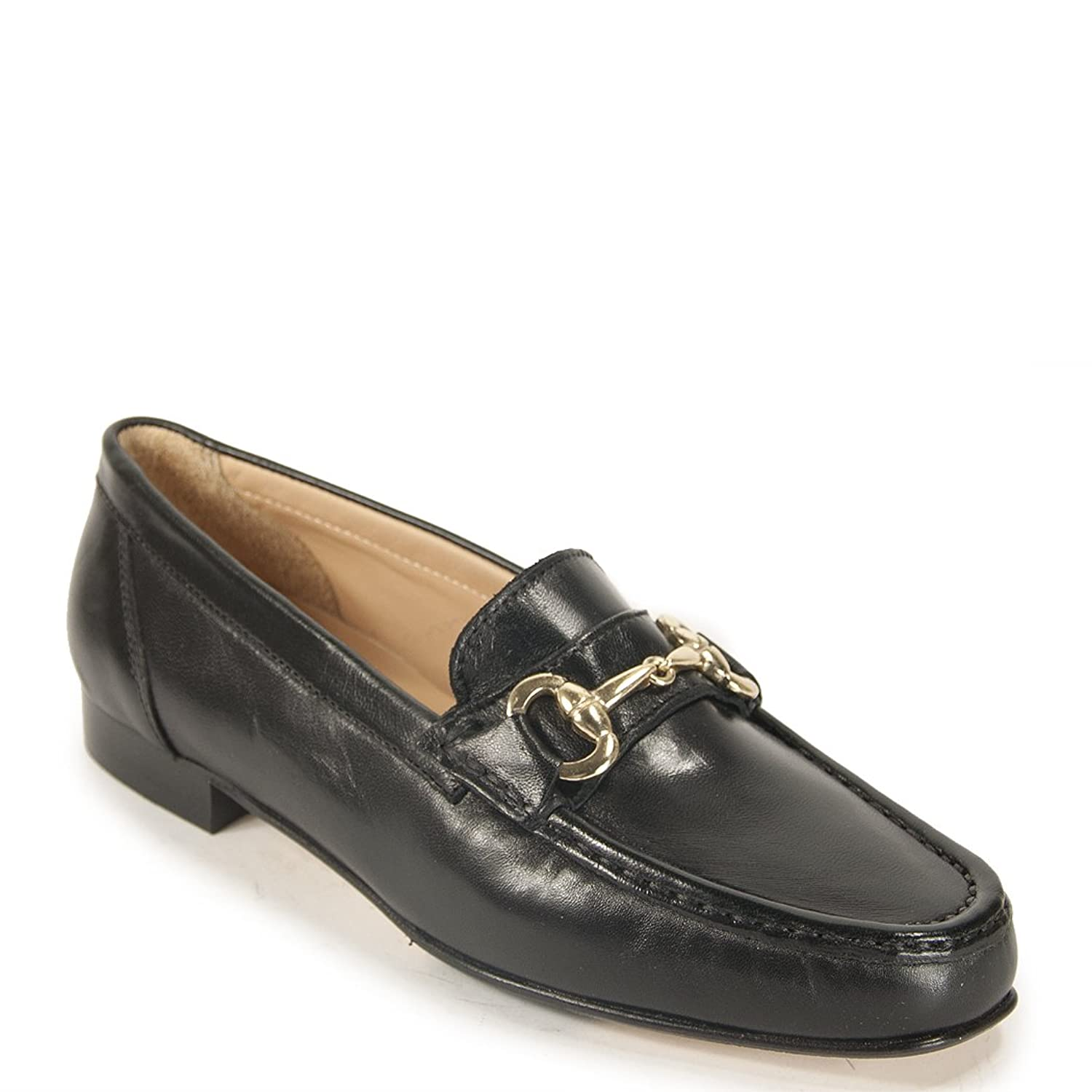 275 Central - 3223 - Women's Leather Loafer with Buckle