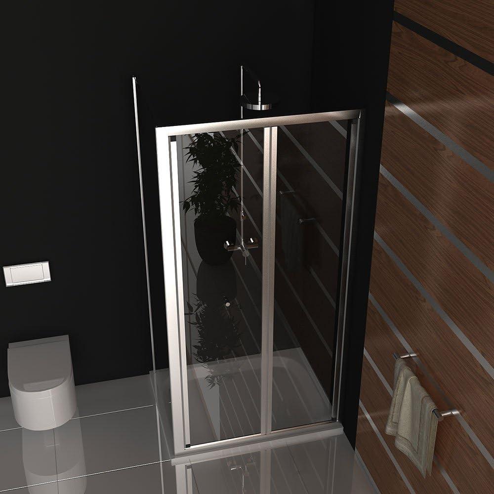Cabina de ducha Puerta aprox 100 x 80 mampara de ducha plegable ...