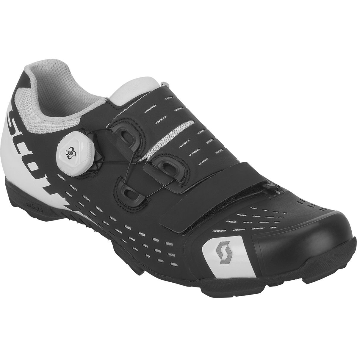 スコットMTB Premium Shoe 43 Matt Black/Gloss White B079GXHPT2