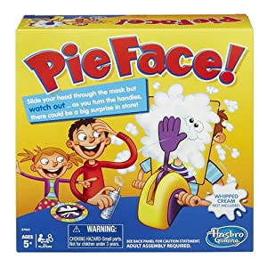 Hasbro Pie Face Game - 61itu15rgzL - Hasbro Pie Face Game