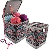 Everything Mary EVM9680-4 Snap-Pocket Yarn Organizer