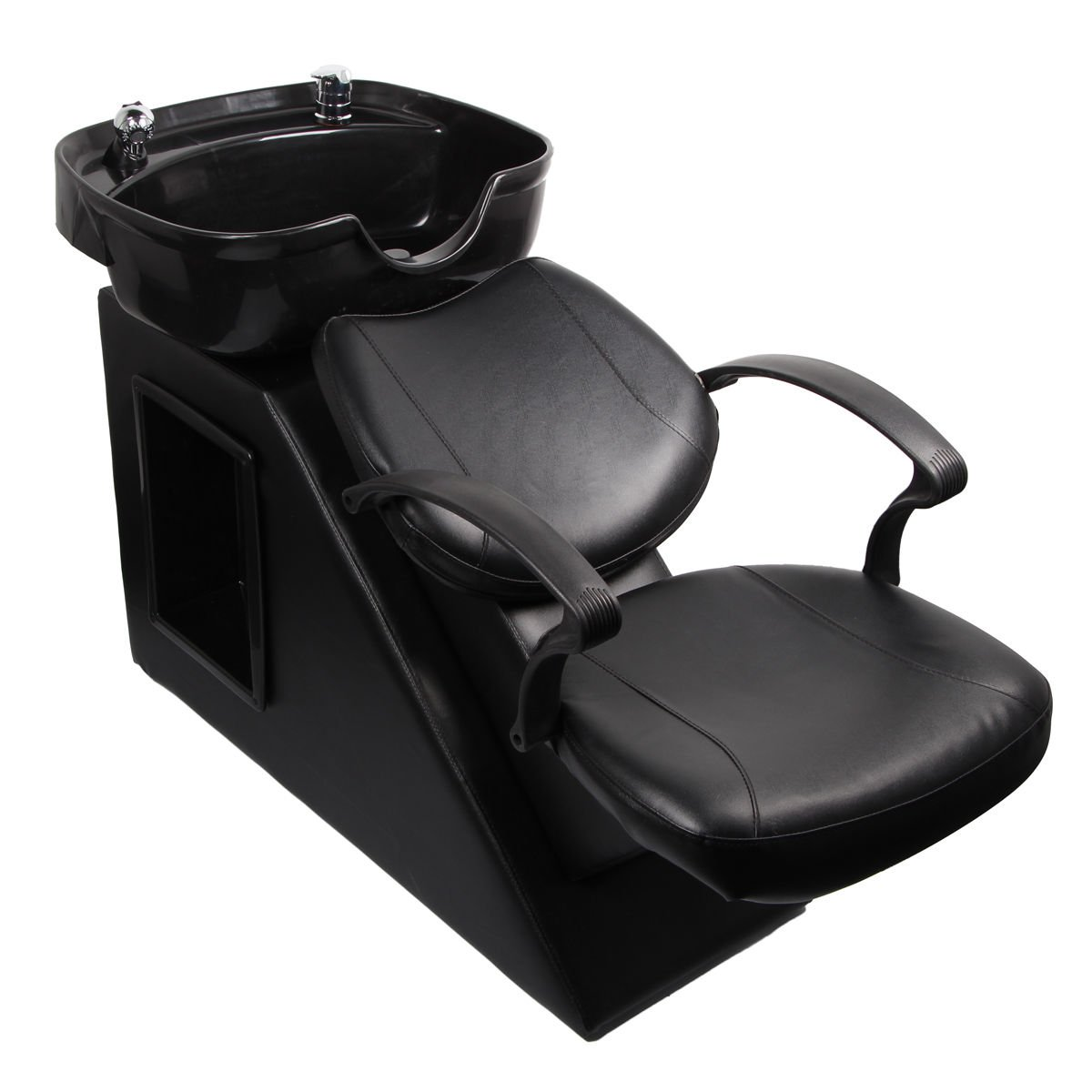 Tek Widget Salon Backwash Shampoo Chair with Sink Bowl
