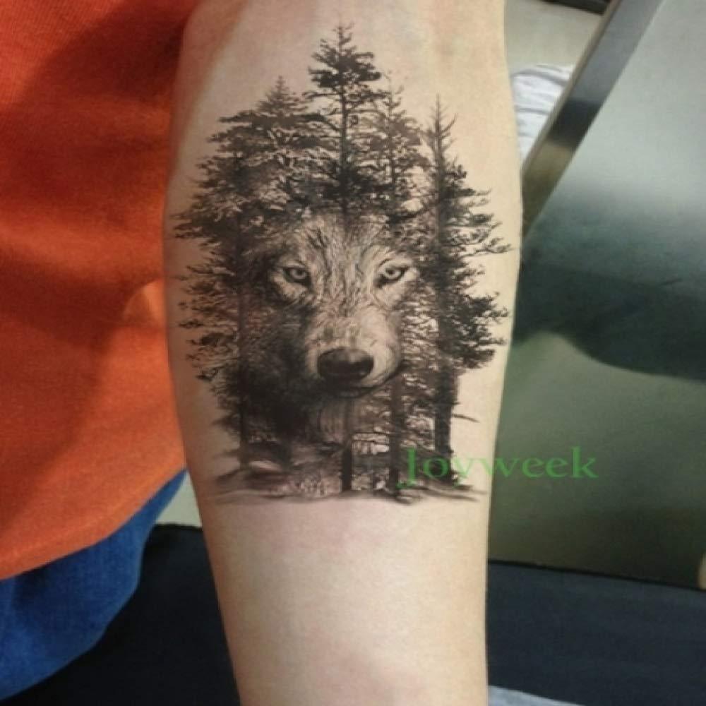 Handaxian 3pcs Etiqueta engomada del Tatuaje Impermeable Animales ...