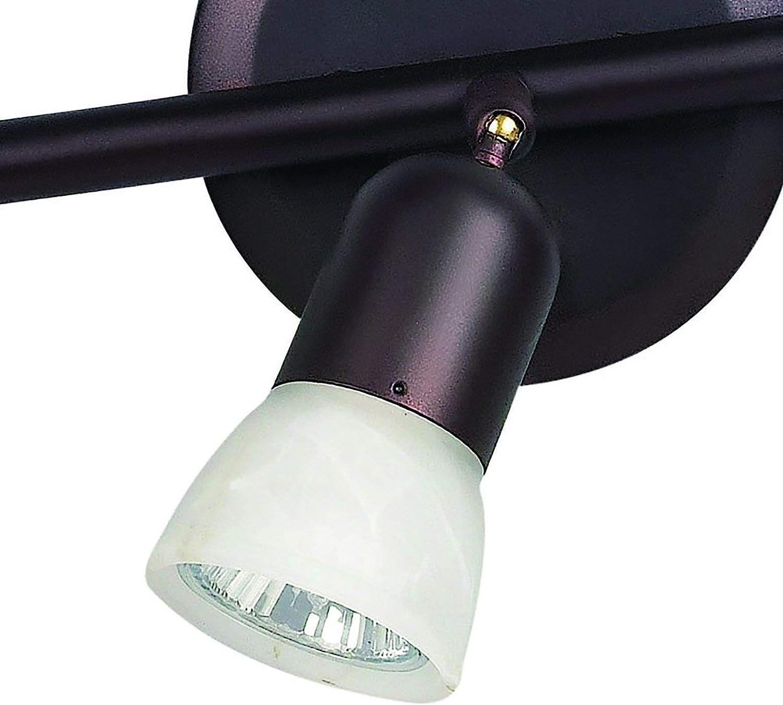 Renewed CANARM LTD Oil Rubbed Bronze IT356A03ORB10 James 3 Bulb Track Light