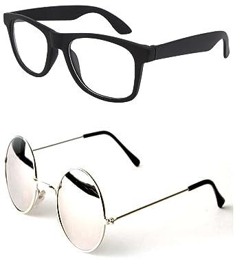 fe0747114fc Younky Unisex Combo offer Pack of UV Protected Mercury Stylish Wayfarer  Sunglasses For Men   Women