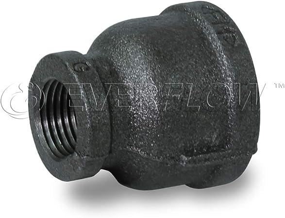 1-1//4 inch NPT Pipe Coupling Black Iron
