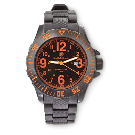 Smith & Wesson Quartz Military Watch (Gray, ...