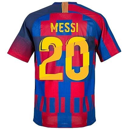 5bea89f3944 Nike Barça x 20th Anniversary Messi 20 Jersey (Fan Style Printing) - M