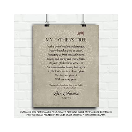 Amazoncom Pesonalized Gift For Dad On Fathers Day Or