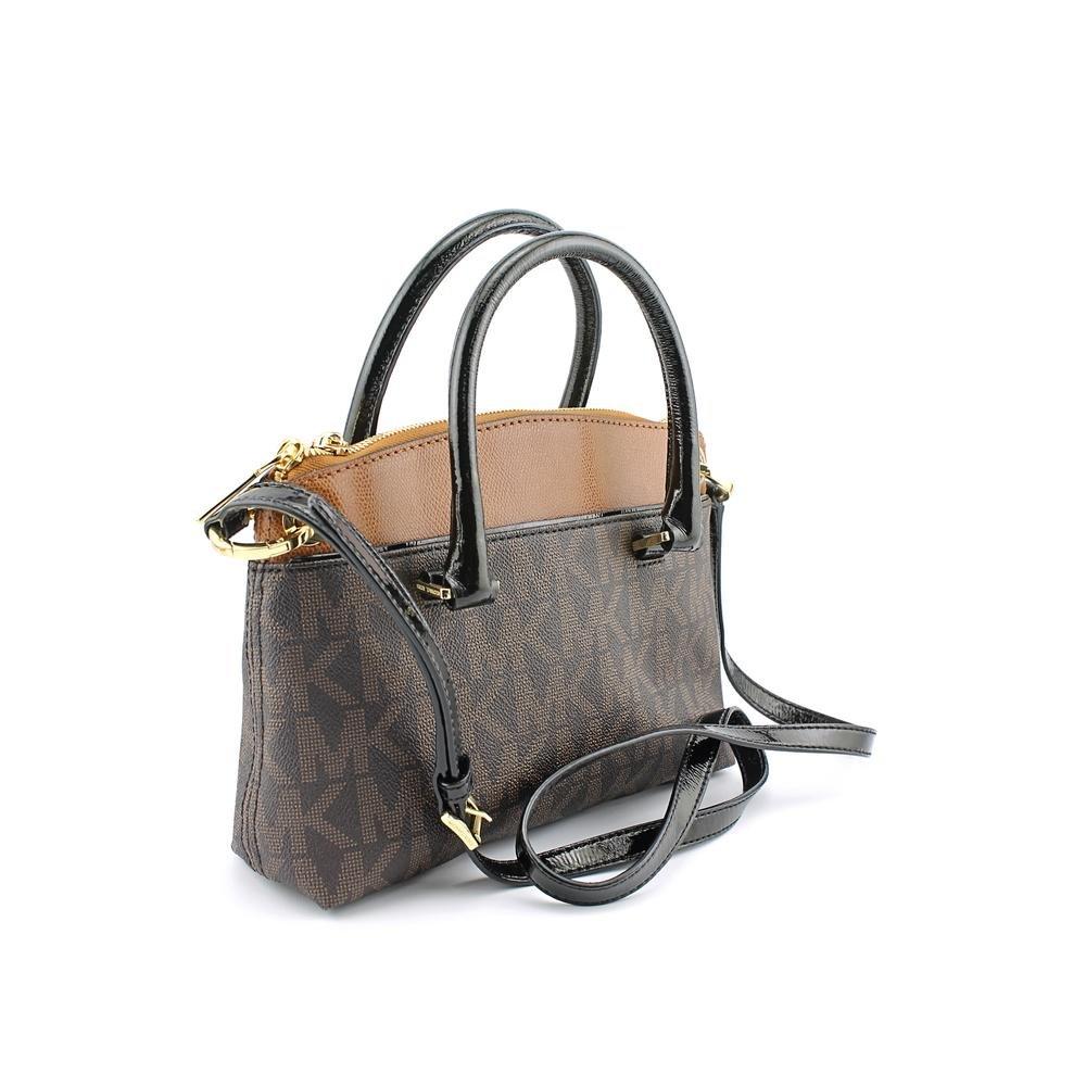 afbd2ffd64b5 inexpensive michaell michael kors aubrey medium satchel brown luggage  handbags amazon 6ea64 f73f6