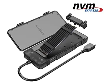 NVMe M.2 SSD a USB 3.1 Gen2 Caja de Carcasa: Amazon.es ...