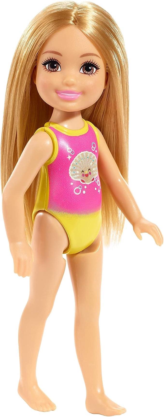 Barbie Club Chelsea Blue Swim Mermaid suit